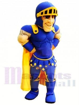 Top Qualität Blauer Ritter Maskottchen Kostüm