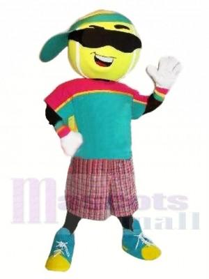 Sport Tennisball Maskottchen Kostüm