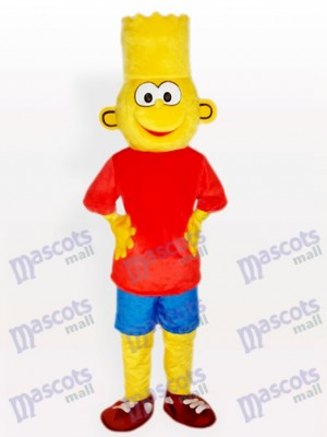 Bart Simpson Anime Maskottchen Kostüm