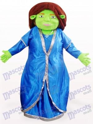 Grünes Fiona Shrek Anime Maskottchen Kostüm
