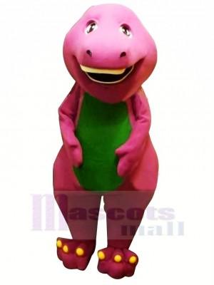 Süß Lila Barney Dinosaurier Erwachsene Maskottchen Kostüm Tier