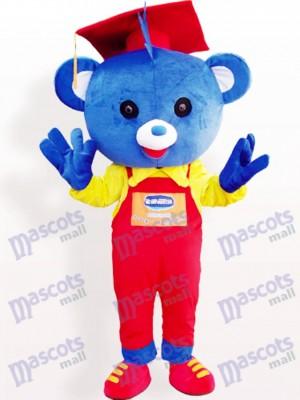 Doktor Bär Tier Maskottchen Kostüm