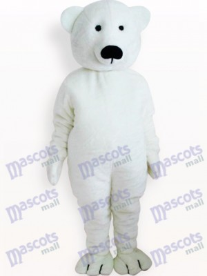 Weißer Bär Tier Maskottchen Kostüm