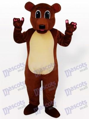 Braun bär Maskottchen Kostüm für Erwachsene