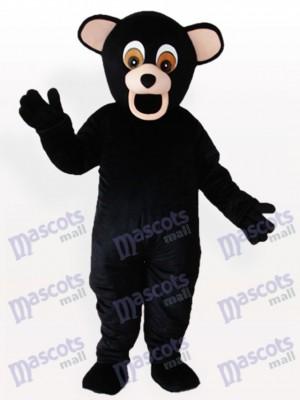 Schwarzbär Tier Maskottchen Kostüm