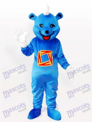 Blue Bear Tier Maskottchen Kostüm