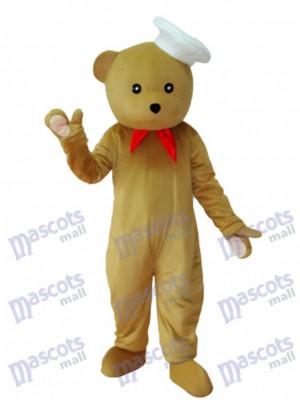 Chef Bär Maskottchen Erwachsene Kostüm Tier