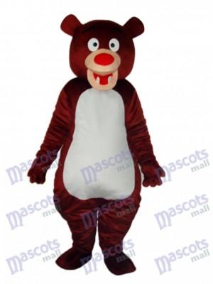 Braunbär Maskottchen Erwachsene Kostüm Tier