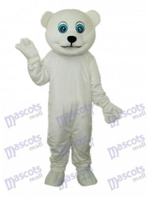 Little Polar Bear Maskottchen Erwachsene Kostüm Tier