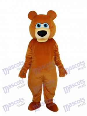 Seltsame Braunbär Maskottchen Erwachsenen Kostüm Tier