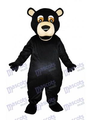 Runde Mund Schwarzbär Erwachsene Maskottchen Kostüme Tier