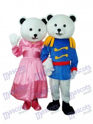General Bear Paar Maskottchen Erwachsene Kostüm Tier