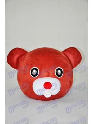 Braunbär Teddybär Kopf nur Maskottchen Kostüm Tier