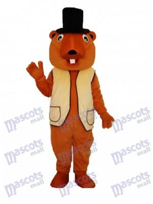 Beaver Maskottchen Erwachsene Kostüm Tier