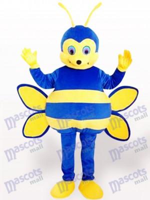 Blaues Bienen Insekt Maskottchen Kostüm