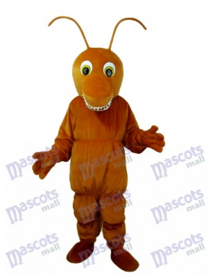 Brown Ant Maskottchen Kostüm für Erwachsene Insekt