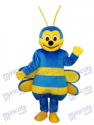 Blue Bee Maskottchen Kostüm für Erwachsene Insekt