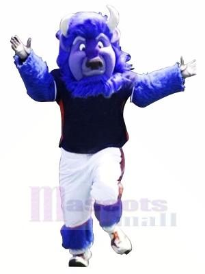Stark Blau Büffel Maskottchen Kostüme Tier