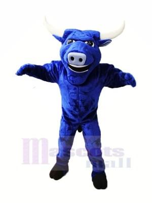 Stark Blau Stier Maskottchen Kostüme Tier