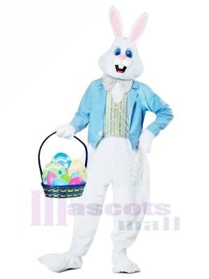 Blau Ostern Hase Erwachsene Maskottchen Kostüme Tier