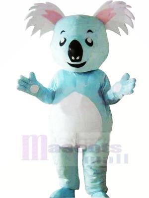 Süß Blau Koala Maskottchen Kostüme Tier