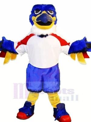 Blau Thunderbird Maskottchen Kostüme Tier