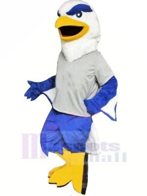 Blau und Weiß Adler Maskottchen Kostüme Tier