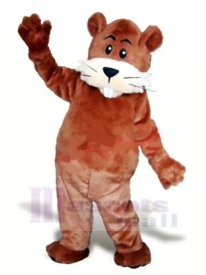Süß Braun Biber Maskottchen Kostüme Tier