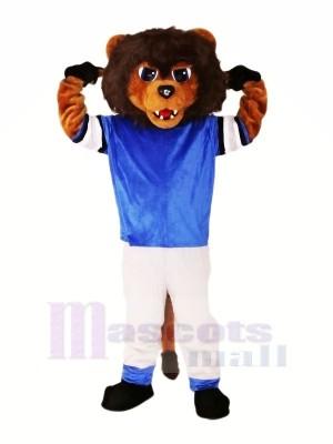 Braun Löwe mit Passen Maskottchen Kostüme Tier