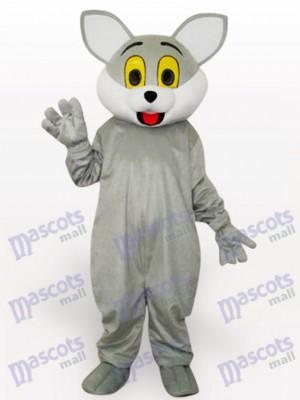 Graue Katze Tier Maskottchen Kostüm für Erwachsene