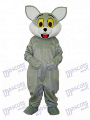 Graue Katze Maskottchen Erwachsene Kostüm Tier