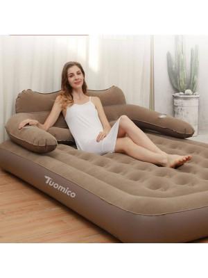 Komfortabel Faul Menschen Aufblasbar Matte Luft Bett Mit Rückenlehne