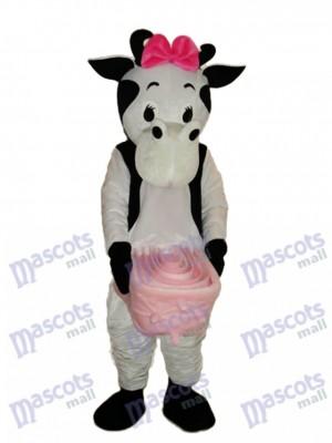 Rosa Bogen Kuh Maskottchen Erwachsene Kostüm Tier