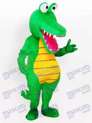Karikatur Krokodil Erwachsene Maskottchen lustiges Kostüm