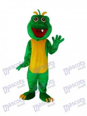Ein Zahn Dinosaurier Maskottchen Erwachsene Kostüm Tier