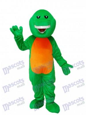 Grünes Barney Dinosaurier Maskottchen Erwachsenes Kostüm Tier