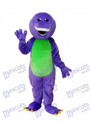 Lila Barney Dinosaurier Maskottchen Erwachsene Kostüm Tier