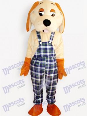 Happy Dog Tier Maskottchen Kostüm für Erwachsene