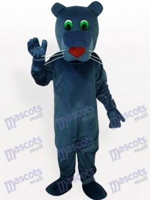 Schwarzmaul-Hund Maskottchen Kostüm für Erwachsene