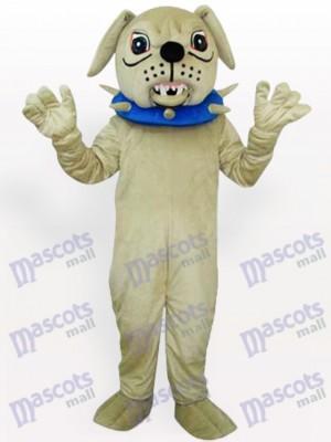 Großer Hund mit Halsband Maskottchen Kostüm