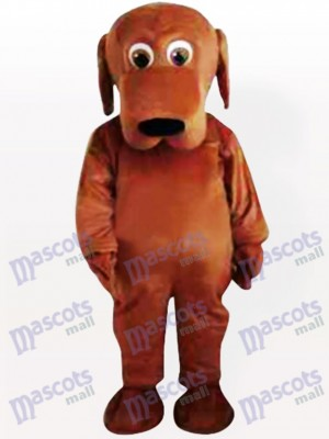 Großer Mund Hund Maskottchen Kostüm
