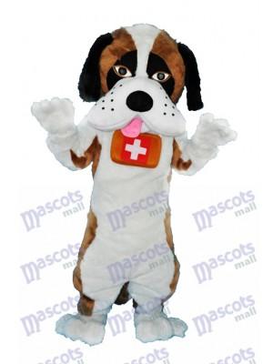 Saint Bernard Hund Maskottchen Erwachsene Kostüm Tier