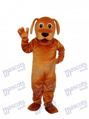 Golden Hund Maskottchen Erwachsene Kostüm Tier