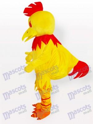 Großes gelbes Chanticleer Huhn erwachsenes Maskottchen Kostüm
