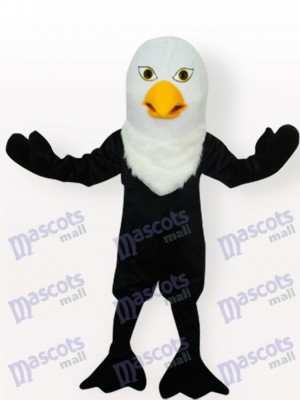 Schwarzer Adler Maskottchen Kostüm für Erwachsene