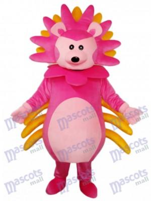 Rosa Igel Maskottchen Erwachsene Kostüm Tier