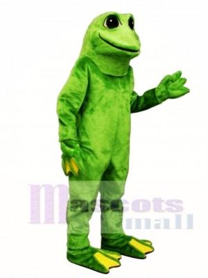 Gelb Toed Frosch Maskottchen Kostüm