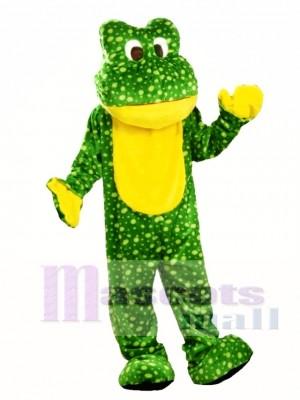 Deluxe Frosch Maskottchen Kostüm