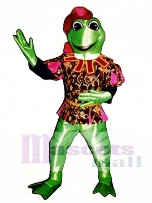 Prinz Friedrich Frosch Maskottchen Kostüm