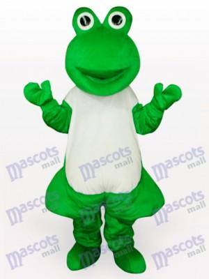 Grüner Frosch Maskottchen lustiges Kostüm